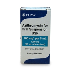 Azithromycin Oral Suspension 200mg/5ml, 30ml