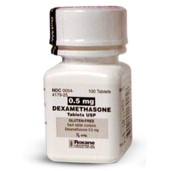 Dexamethasone Tablets 0.5mg, 100 tablets