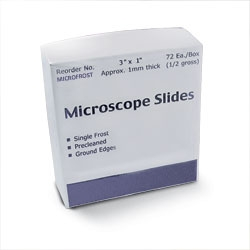 Microscrope Slides & Cover Slips
